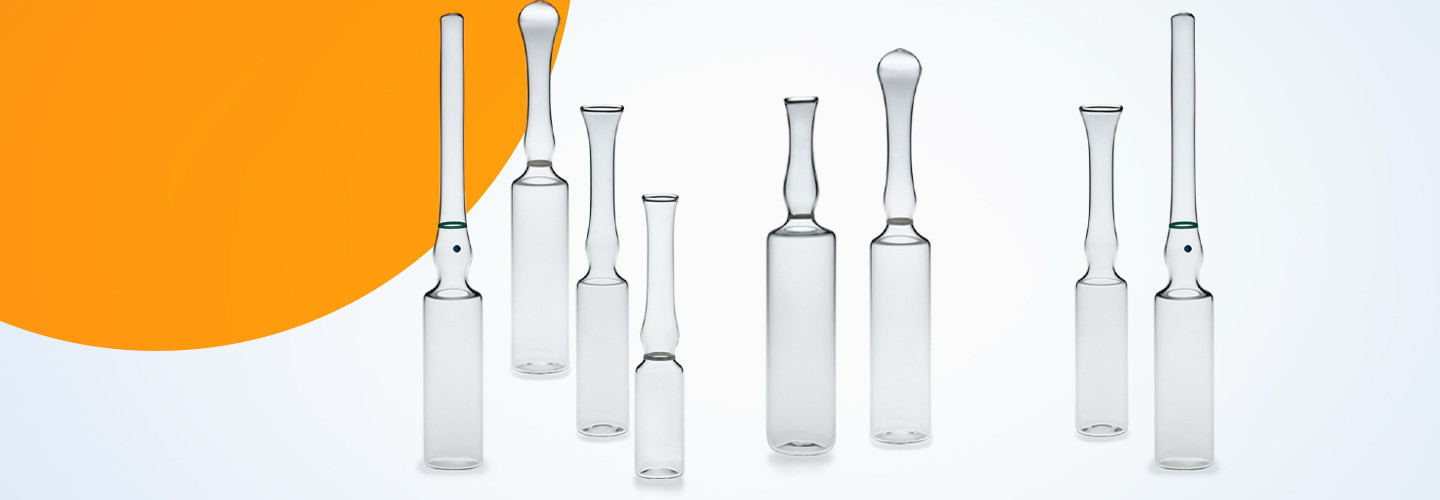Glass Ampoules range