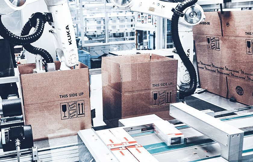 Highly flexible case packing and palletizing solutions