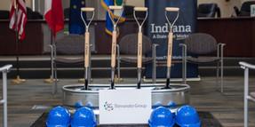 Groundbreaking Ceremony Indiana 1